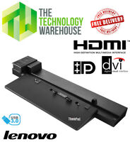 Lenovo Thinkpad Pro Laptop Docking Station 40A5 USB 3.0 - DP - HDMI - SD20A06045