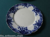 W.H. Grindley of England 4 plates, Margherite pattern c1870s[a*4antique]