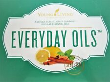 Nib Sealed Young Living Everyday Oils Collection 10 Vials Essential Most Popular
