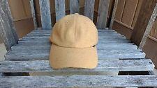DBYDGNAK Back Lace Up Cap Designer Wool Cap Brown/Camel Color Adjustable Sizing