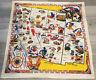 Vintage Souvenir Tablecloth, California, Arizona, Nevada, Utah, New Mexico