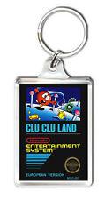Clu Clu Land Nes Keyring Keychain