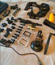 GoPro HERO4 Action Camera - Silver Bundles with Extras