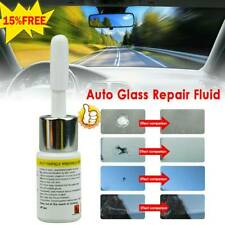 2pcs Automotive Glass Nano Repair Fluid Car Window Glass Crack Chip Repair Tools