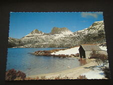 CRADLE MOUNTAIN AND DOVE LAKE WINTER SCENE ST CLAIR NATIONAL PARK POSTCARD