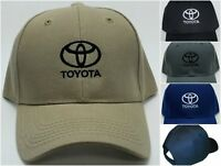 Toyota Embroidered Baseball Hat Cap Adjustable Strap TOYOTA