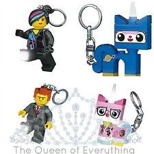 Santoki LED Lite LEGO Keychains LEGO Movie Astro Kitty President Business