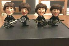 Vintage 1964 Remco Beatles Dolls Complete Set With Instruments All Original,