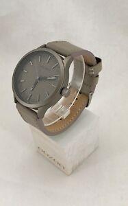 Oozoo Uhr Armbanduhr Designuhr - C9018 - Ø ca. 45 mm - Taupe / Titanium