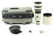 【 Excellent+5 w/ Case 】Canon EF 500mm f/4 L IS USM Telephoto AF Lens from JAPAN