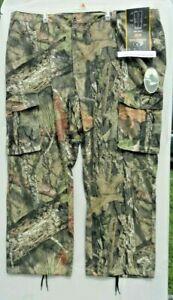 MENS MOSSY OAK BREAK-UP COUNTRY CAMO HUNTING CARGO PANTS, SIZE 48/50 XXXL, NEW
