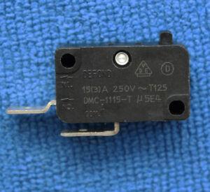 1pcs DMC-1115-T u 5E4 Micro Limit Switch 2 Pins NO. Com. Pin No Press Rod