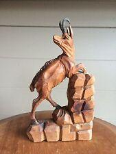 Chamois en bois sculpté Forêt Noire Black Forest Schwartzwald