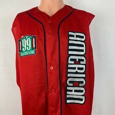 Majestic Authentic American League 1999 All Star Game Jersey Vtg 90s MLB Sewn XL