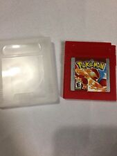 Pokemon Red Version NEW SAVE BATTERY ( Game Boy Color, 1998) W/ Cartridge Case