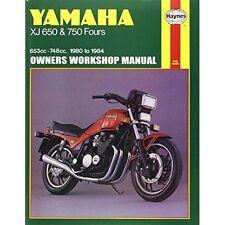 Yamaha XJ Haynes Motorcycle Service & Repair Manuals
