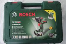 Bosch Akkuschrauber PSR 14,4 Li-2 im Koffer + 8 tlg. Bohrerset