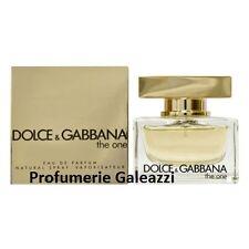 D&G DOLCE E GABBANA THE ONE DONNA EDP NATURAL SPRAY VAPO - 75 ml