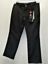 New Young Junior Boys Size Xs Under Armour Loose Fit Golf pants black