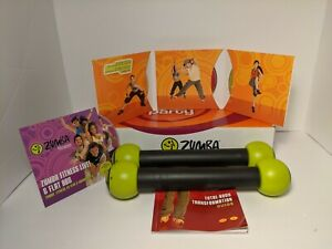 Zumba Fitness Join the Party Total Body Transformation 4 DVD & Set Shaker Sticks
