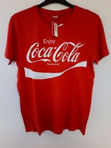 Coca Cola t-shirt Retro coke men XL Red new with tags