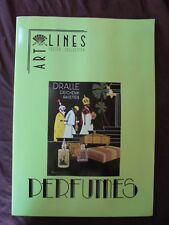 ART LINES POSTER COLL. PERFUMES VINTAGE ANNI 20/30 DECO LIBERTY PROFUMI RARO