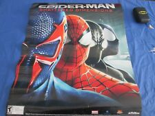 Spider-Man Shattered Dimensions 22 x 28 Promo Poster Video Game PS3 XBox NYCC