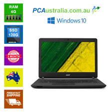Acer Laptop ES1 432 Pentium Notebook  4GB RAM 120GB SSD Wi-Fi Windows 10
