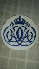 Royal Copenhagen 1898 Plate - Wedding Prince Christian & Alexandra