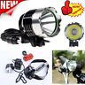 5000 Lm CREE XM-L XML T6 LED Bicycle Bike Rechargeable light Head Light Headlamp