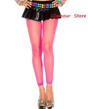 SEXY leggings micro Rete Pantacollant Rosa Collant taglia unica Fashion GLAMOUR