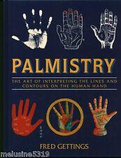 Livre ésotérisme  palmistry - fred Gettings    book