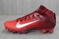 26 Nike Vapor Untouchable 2 Football Cleats Red Metallic 824470-608 8-12.5