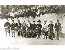 Munising MI Snowshoe Club 1900 Vintage Snowshoes Winter Clothing Pictured Rocks
