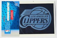 NBA Los Angeles Clippers Window Graphic - Silver Chrome Vinyl Decal 4x5