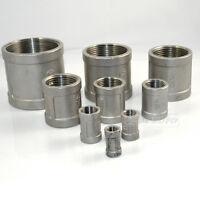 """2"""" Female x 2"""" Female Couple Stainless Steel 304 Threaded Pipe Fitting NPT INNER"""