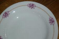 1 Suppenteller  23,5 cm   Tirschenreuth  MELODIE  Röschen in Pink
