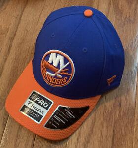 Men's New York Islanders Fanatics Authentic Pro Draft Flex Stretch Hat NWT S/M