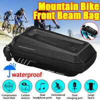 Bike Bag Bicycle Frame Pannier Cross Bar Top Tube Waterproof Mountain Bike Sport