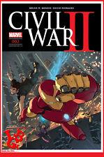 CIVIL WAR II 2 02 Fev 2017 Cover 1/2 Marvel Panini Coipel Bendis # NEUF #