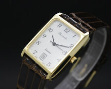 New Old Stock 27mm Swiss THERMIDOR vintage quartz watch ESA 928.411 NOS 75/80s