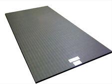"""10'x5'x1.25"""" Dollamur Flexi-Roll® MMA Tatami Texture Mat -Charcoal Gray"""