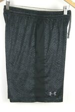 Under Armour Men's Printed Shorts Medium Black Grey Geo