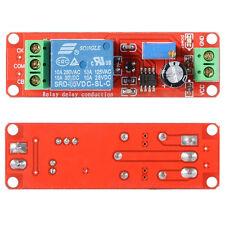 5X 12V Delay Timer NE555 Monostable Passare modulo rele' regolabile Arduino C2K8
