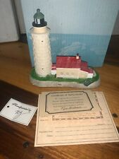 Cana Island Wisconsin 119 Harbour Lights 1991 Lighthouse Coa Limited Edition Nb