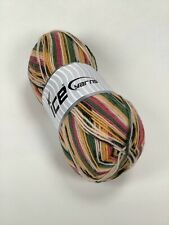 cream/ khaki/ yellow/ pink self striping sock yarn 100 gram/ 400 m