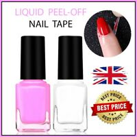 Peel Off Nail Tape Latex Liquid Cream Base Coat Liquid Polish Art Palisade Pink