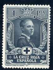 Sellos 1926 Pro Cruz Roja Española nº 335 1 peseta pizarra nuevo ref.3 stamps