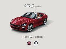 Fiat 124 Spider Zubehor 06 / 2016 catalogue brochure Austria  no Mazda MX 5