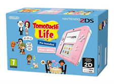 Nintendo 2ds Console With Tomodachi Life White Pink Official
